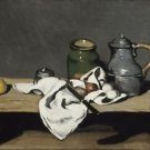 Cezanne - Still life with kettle - 30x40 IN Canvas