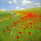Field of Poppies by Merse - 30x40 IN Canvas