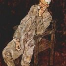 Portrait of Johan Harms by Schiele - 30x40 IN Canvas