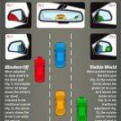 Vinteja charts of - Car Mirrors - A3 Paper Print