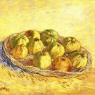 Still life with apple basket [2] by Van Gogh - 30x40 IN Canvas
