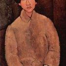 Modigliani - Portrait of Chaiim Soutine [2] - 30x40 IN Canvas