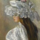 Young Woman in White Head, 1892 - 24x32 IN Canvas