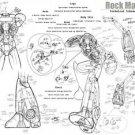 Vinteja charts of - Rockman X - A3 Paper Print
