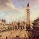Piazza San Marco [1] by Canaletto - Poster (24x32IN)