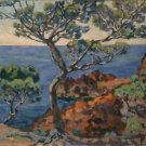 A View of a Bay at Agay - Poster (24x32IN)