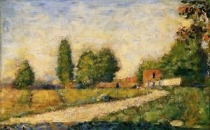 The Edge of the Village 1882-3 - Poster (24x32IN)
