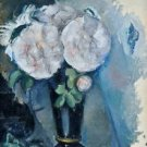 Flowers in a Blue Vase, 1880 - Poster (24x32IN)