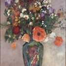 Bouquet of Flowers in a Vase - 24x18 IN Canvas