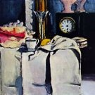 The Black Marmour by Cezanne - 24x18 IN Canvas