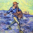 The Sower 1 by Van Gogh - 24x32 IN Canvas
