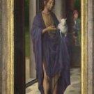 Hans Memling - Saint John the Baptist (1) - A3 Paper Print
