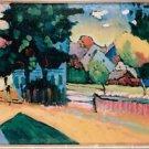 Kandinsky, Vasily - View of Murnau - A3 Paper Print