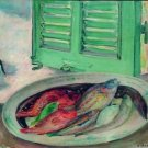 Still Life with Fish  - 24x18 IN Poster