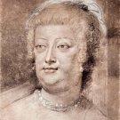 Portrait of Maria de' Medici by Rubens - 24x18 IN Canvas