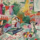 Henri Matisse - Interior with a Young Girl - 24x32 IN Canvas