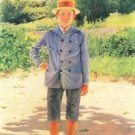 Portrait of a young Delisle by Felix Vallotton - 24x18 IN Poster