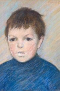 Portrait of Pierre Renoir, 1895 - A3 Poster