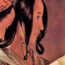 Woman's head in profile by La Tour - Poster Print (24 X 18 Inch)