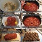 Vinteja charts of - GHT Spaghetti & Meatballs_2 - A3 Paper Print