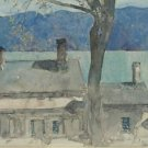 Old House, Newburgh, New York, 1916 - Poster Print (24 X 18 Inch)