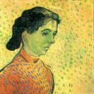 Portrait of a girl by Van Gogh - Poster (24x32IN)