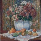 Still Life with Flowers and Prickly Pears, 1885 - 24x18 IN Poster