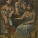 Pablo Picasso - Three Women at the Spring - 24x18 IN Poster