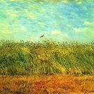 Wheat Field with a Lark - Poster (24x32IN)