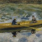Claude Monet with Mme Henriot, 1880 - A3 Poster