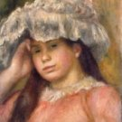 Young Girl in a Hat, 1892-94 - A3 Poster