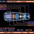 Vinteja charts of - LCARS UFP Photon Torpedo Mark Q-II - A3 Paper Print