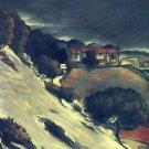 Snowmelt in L'Estaque, 1870 - 24x18 IN Canvas