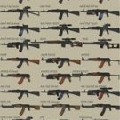 Vinteja charts of - ID Eastern Weapons - A3 Paper Print