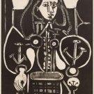 Pablo Picasso - Femme au fauteuil no. 4 - 24x32 IN Canvas