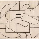 Pablo Picasso - Guitar (2) - Poster (24x32IN)