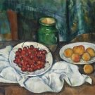 Still Life with Cherries and Peaches, 1885-87 1 - 30x40 IN Canvas