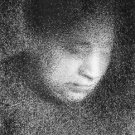Seurat's mother by Seurat - 24x18 IN Poster
