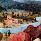 St. Christopher, detail [1] by Bosch - 30x40 IN Canvas