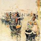 A Venetian Regatta, 1891 - 24x18 IN Canvas