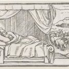 Dream of Pharaoh. 1538 - 24x32 IN Canvas