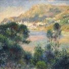 View From Cap Martin of Monte Carlo, 1884 - Poster (24x32IN)