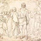 Cymon And Iphigenia, 1847 - 24x18 IN Canvas