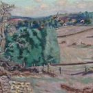 The Pasture of Granges at Crozant, 1895 - A3 Poster