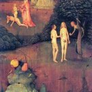 Hell, detail [1] by Bosch - 24x32 IN Canvas