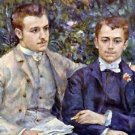 Portrait of Charles and George by Renoir - 30x40 IN Canvas