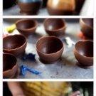 Vinteja charts of - Chocolate Bowls - A3 Paper Print
