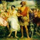 Cymon and Iphigenia, 1851 - 24x18 IN Canvas