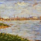 The Riverbanks 1882-3 - 24x32 IN Canvas