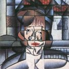 Portrait of Madame Germaine Raynal [1] by Juan Gris - 30x40 IN Canvas